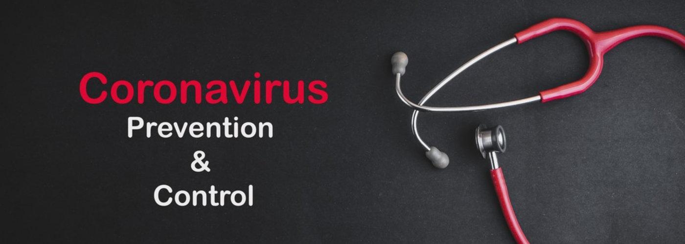 covid 19 prevention banner